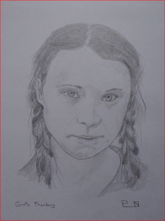 Greta Thunberg by Picapenko